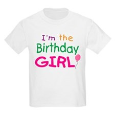 I'm the Birthday Girl Kids T-Shirt