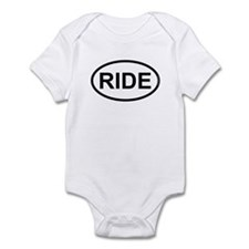 RIDE - Motorcycle/Bicycle Rider Infant Bodysuit