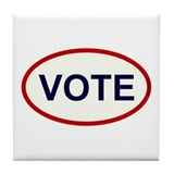 VOTE - Voter Tile Coaster