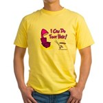 I Can Do Your Hair Yellow T-Shirt