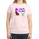 I Can Do Your Hair Women's Pink T-Shirt