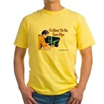 Plumber Fix Your Pipe Yellow T-Shirt