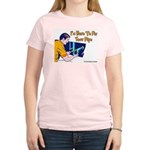 Plumber Fix Your Pipe Women's Pink T-Shirt