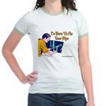 Plumber Fix Your Pipe Jr. Ringer T-Shirt