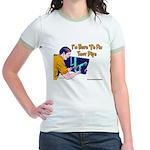 Plumber Fix Your Pipe Jr. Ringer T-Shirt