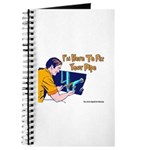 Plumber Fix Your Pipe Journal
