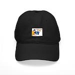 Plumber Fix Your Pipe Black Cap