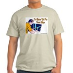Plumber Fix Your Pipe Ash Grey T-Shirt