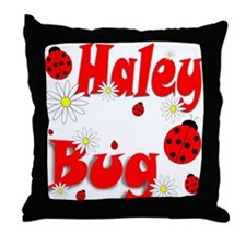 Haley Bug Throw Pillow