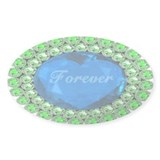 Forever Heart Decal
