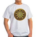 Yellow Crescent Pentacle Light T-Shirt