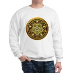Yellow Crescent Pentacle Sweatshirt
