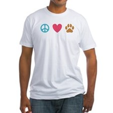 Peace Love Dogs [st] Shirt