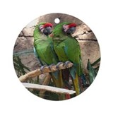 Military Macaw series 4 Ornament (Round)