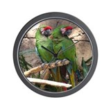 Military Macaw series 4 Wall Clock