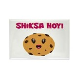 Shiksa Hoy! Rectangle Magnet