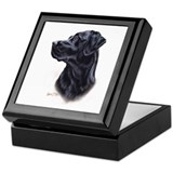 Labrador Retriever (black) Keepsake Box