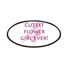 Cute flower girl Patches