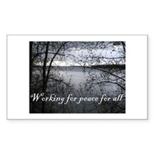Working for Peace Stickers (10 pk)