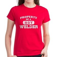 Property of a Hot Welder Tee