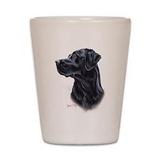 Labrador Retriever (black) Shot Glass