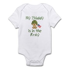 Cute Army baby Infant Bodysuit