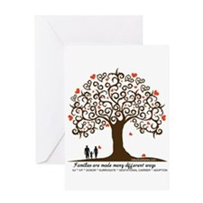 INFERTILITY Family Tree Greeting Card