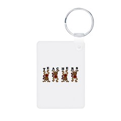 Teachers Aluminum Photo Keychain