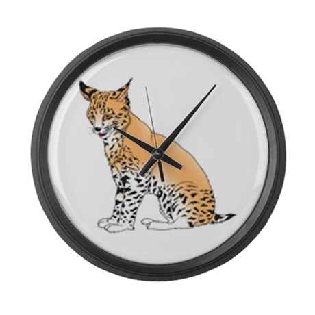 Lynx Large Wall Clock