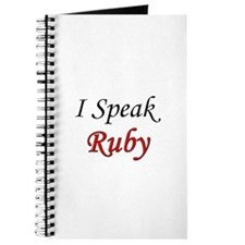 """I Speak Ruby"" Journal"