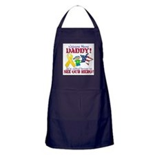 Welcome Home Daddy Apron (dark)