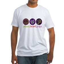 PEACE HEART YOGA Shirt