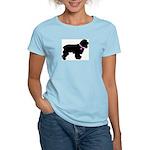 Cocker Spaniel Breast Cancer Women's Light T-Shirt