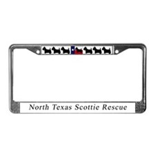 Cool Scottie rescue License Plate Frame