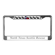 Cute North texas License Plate Frame