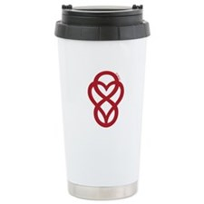 Let Love Out Ceramic Travel Mug