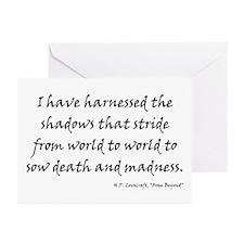 HPL: Shadows Greeting Cards (Pk of 10)