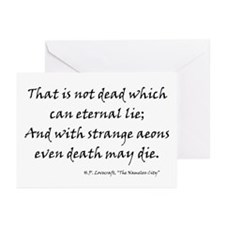 HPL: Death Greeting Cards (Pk of 20)