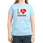 I Love My Dalmation Women's Light T-Shirt