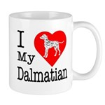 I Love My Dalmation Mug