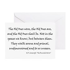 HPL: Old Ones Greeting Cards (Pk of 10)