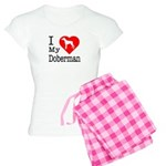 I Love My Doberman Pinscher Women's Light Pajamas