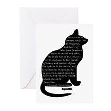 HPL: Cats Greeting Cards (Pk of 10)
