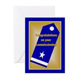 Coast Guard Officer Rank Prom Greeting Card