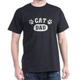 Cat Dad [b/w] T-Shirt