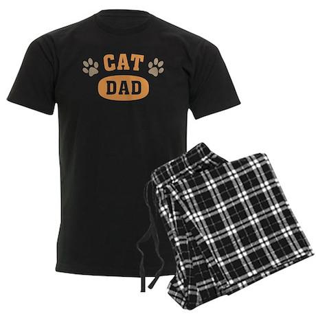 Cat Dad Men's Dark Pajamas