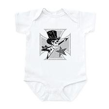 Flying V Skull Infant Creeper
