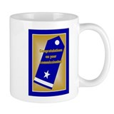 Coast Guard Ensign Commission Small Mug
