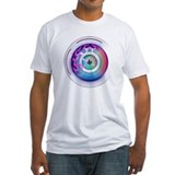 T-Shirt white w/ iSphere app icon hybrid