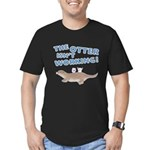 Otter Men's Fitted T-Shirt (dark)